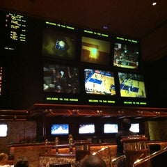 Photo taken at The Mirage Race & Sports Book by Jerry D. on 3/4/2012