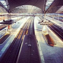 Photo taken at Station Leuven by Ricardo G. on 6/26/2012