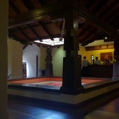 Photo taken at Club Mahindra Madikeri by Arsalaan H. on 5/25/2012