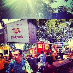 Photo taken at Fort Worth Food Park by Bianca C. on 9/1/2012