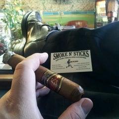 Photo taken at Smoke N' Sticks by Frankie G. on 6/28/2012