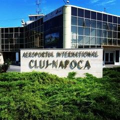 "Photo taken at Cluj-Napoca ""Avram Iancu"" International Airport (CLJ) by Cosmin D. on 7/10/2012"