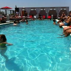 Photo taken at Penthouse Pool Club by Joel H. on 5/28/2012