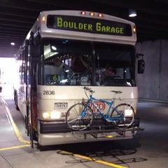 Photo taken at Boulder Transit Center by Camryman on 6/14/2012