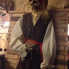 Photo taken at Taverna dos Piratas by Mafaldinha M. on 5/4/2012