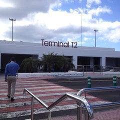 Photo taken at Terminal 2 Aeropuerto de Lanzarote (ACE) by Rafa P. on 5/3/2012