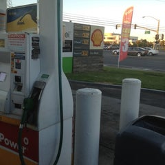 Photo taken at Shell by Greg on 8/28/2012