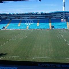 Photo taken at Estádio Aderbal Ramos da Silva (Ressacada) by Juliano S. on 6/2/2012