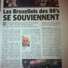 Photo taken at Librairie / Boekhandel Atlantide by Olivier G. on 7/30/2012