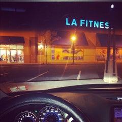 Photo taken at LA Fitness by dizberiq on 8/31/2012
