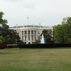 Photo taken at South Lawn - White House by Michael S. on 4/14/2012