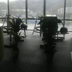 Photo taken at NORMAN'S FITNESS by Marcela K. on 4/19/2012