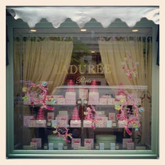 Photo taken at Ladurée by Colin Q. on 5/9/2012