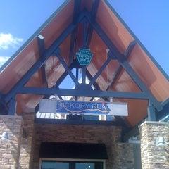 Photo taken at Hickory Run Service Plaza by Joshua S. on 5/19/2012