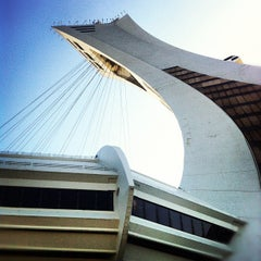 Photo taken at Stade Olympique by Jennifer L. on 5/24/2012