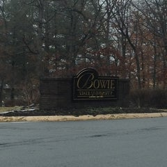 Photo taken at Bowie State University by sneakerpimp on 2/11/2012