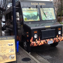 Photo taken at Bada Bing Philly Cheesteaks by Petra W. on 3/18/2012