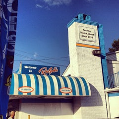 Photo taken at Ralph's Italian Ices by Adam L. on 8/12/2012