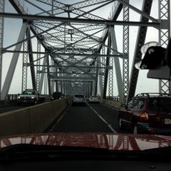 Photo taken at Outerbridge Crossing by Brian D. on 6/22/2012