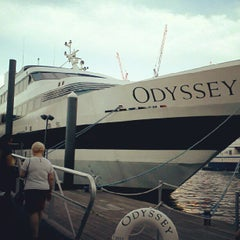 Photo taken at Odyssey Cruises by Franklin M. on 5/19/2012