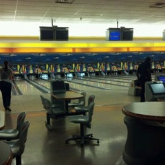 Photo taken at Buffaloe Lanes Cary Bowling Center by Ryan T. on 5/11/2012