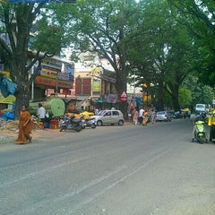 Photo taken at Gandhi Bazaar by Gaurav B. on 5/19/2012