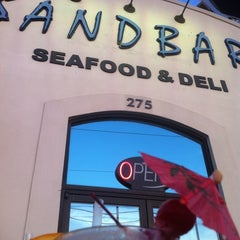 Photo taken at Sandbar Seafood, Deli, And Oyster Bar by Chrissy L. on 4/12/2012