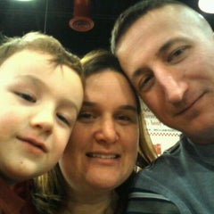 Photo taken at Five Guys by Tracy B. on 2/14/2012