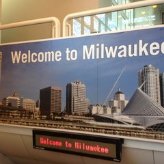 Photo taken at General Mitchell International Airport (MKE) by Nicholas Z. on 5/16/2012