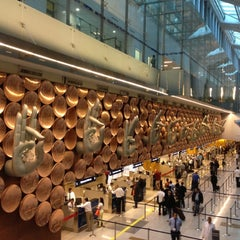 Photo taken at Indira Gandhi International Airport (DEL) by Amit J. on 8/6/2012