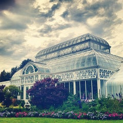 Photo taken at Volunteer Park Conservatory by Christian M. on 6/22/2012