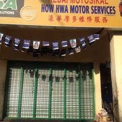 Photo taken at Kedai Motor How Hwa by Ashraf S. on 3/16/2012