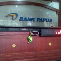 Photo taken at Bank Papua by jack p. on 8/28/2012