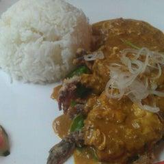 Photo taken at Thai Express by Janice K. on 4/24/2012