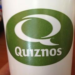 Photo taken at Quiznos by Matthew R. on 2/23/2012