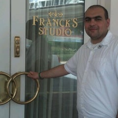 Photo taken at Franck's Studio at Disney's Wedding Pavilion by Sara on 7/20/2012