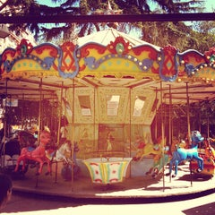 Photo taken at Parque Rivadavia by Sir Chandler on 4/1/2012
