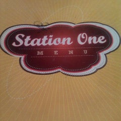 Photo taken at Station 1 Café by mfxzxxyxhya    on 5/14/2012