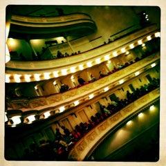 Photo taken at Carnegie Hall (Stern Auditorium/Perelman Stage) by Daniel C. on 3/18/2012