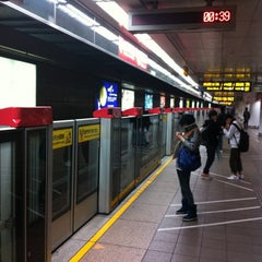 Photo taken at 捷運台北車站 MRT Taipei Main Station by Gary W. on 2/24/2012