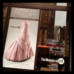 Photo taken at Museum at the Fashion Institute of Technology (FIT) by Vickie L. on 5/25/2012
