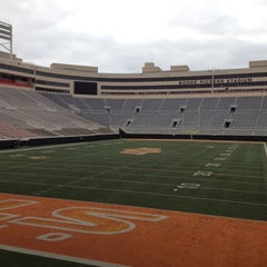 Photo taken at Boone Pickens Stadium by Andrew L. on 2/2/2012