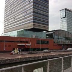 Photo taken at Mövenpick Hotel Amsterdam City Centre by Michelle D. on 7/1/2012