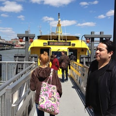 Photo taken at NY Waterway Ferry - Wall St/Pier 11 Terminal by Jay Y. on 4/27/2012