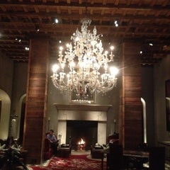 Photo taken at Gramercy Park Hotel by Greg B. on 2/18/2012