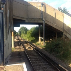 Photo taken at Stoneleigh Railway Station (SNL) by Mike N. on 8/23/2012