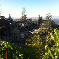 Photo taken at Mountain Winery by Alex R. on 6/29/2012