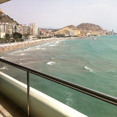 Photo taken at Hotel Meliá Alicante by Josue B. on 7/26/2012