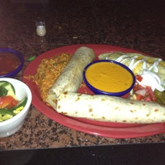 Photo taken at Tres Amigos Cantina by Neil C. on 5/4/2012