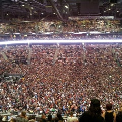 Photo taken at Žalgirio Arena | Zalgiris Arena by Jonas K. on 7/28/2012